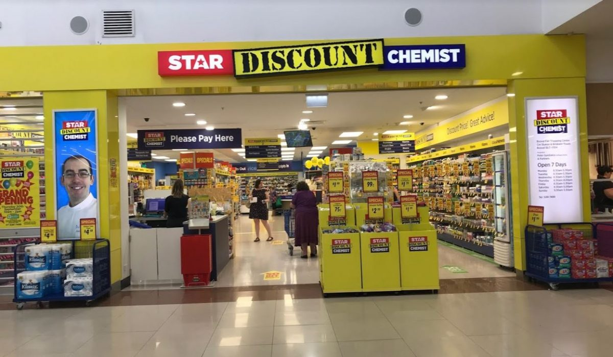 Store front - Star Discount Chemist Booval>