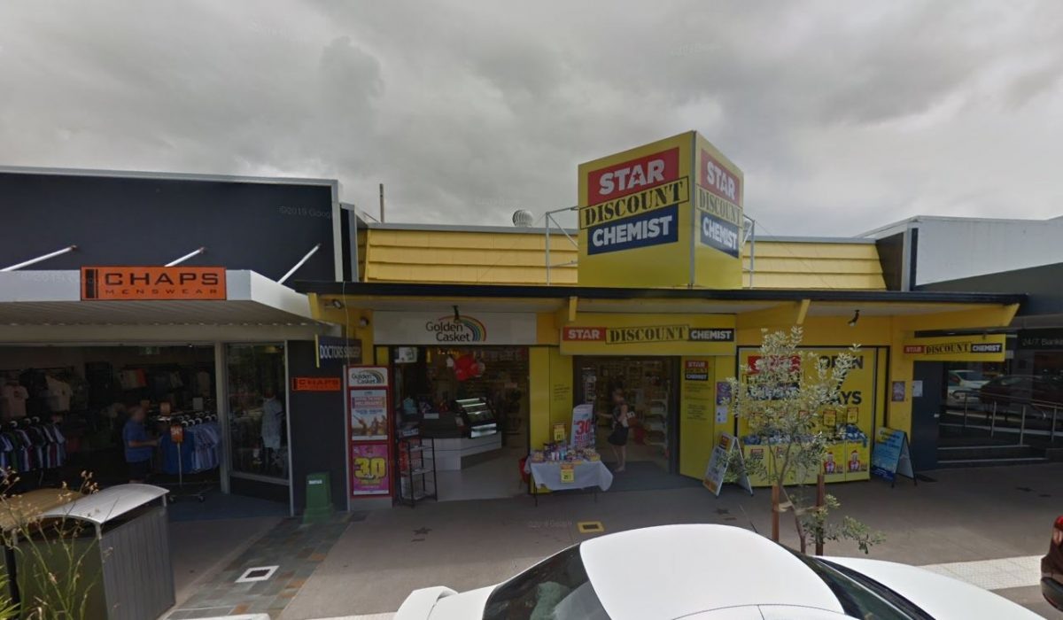 Store front - Star Discount Chemist Caloundra>