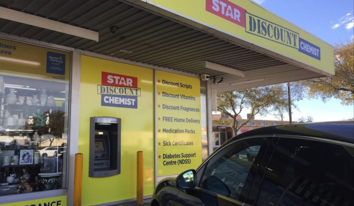 Store front - Star Discount Chemist Collinswood>