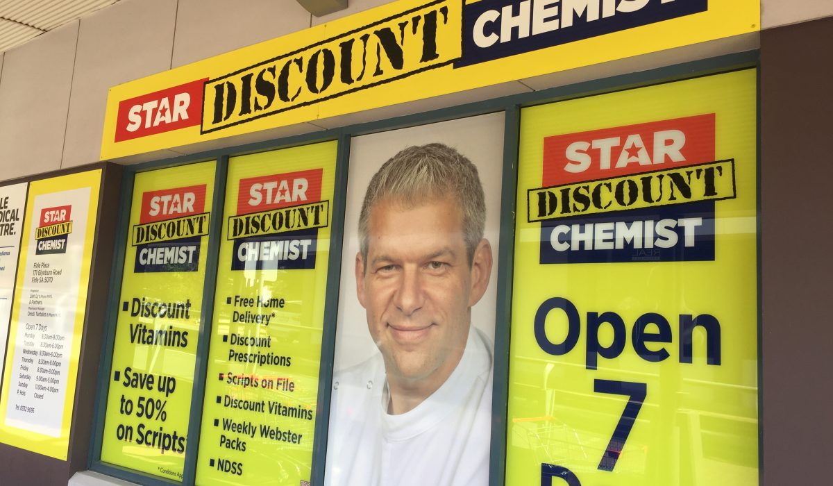 Store front - Star Discount Chemist Firle>
