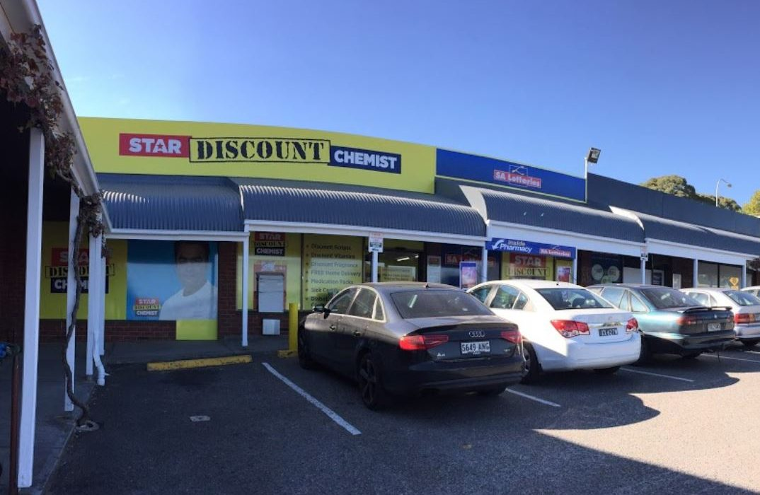Store front - Star Discount Chemist Magill>