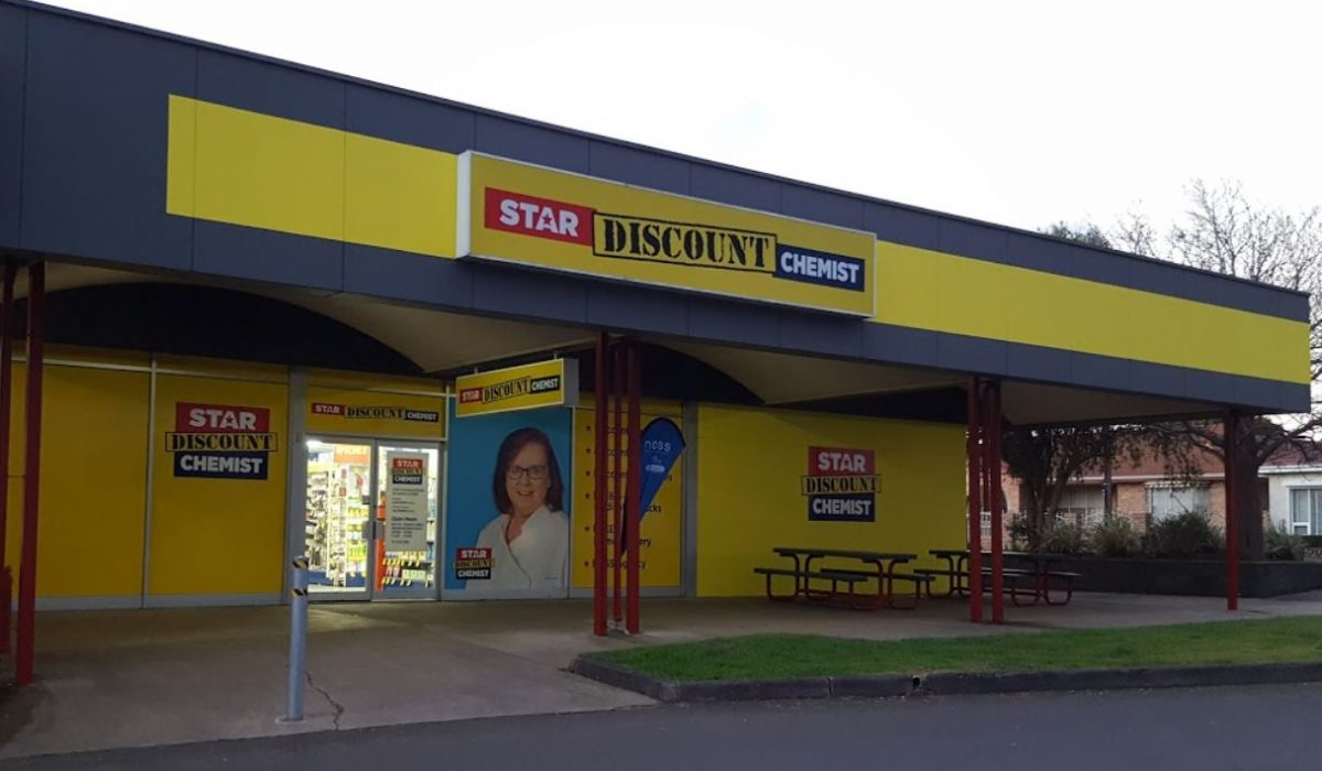Store front - Star Discount Chemist Mount Gambier>
