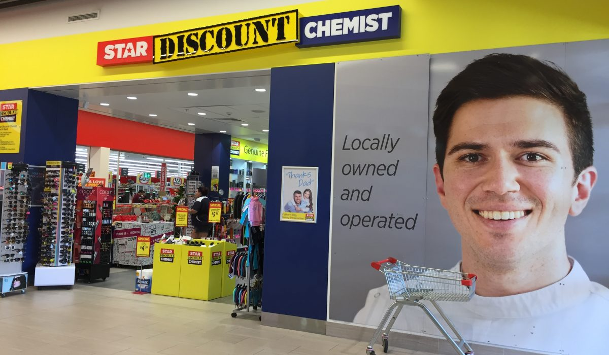 Store front - Star Discount Chemist North Ward>