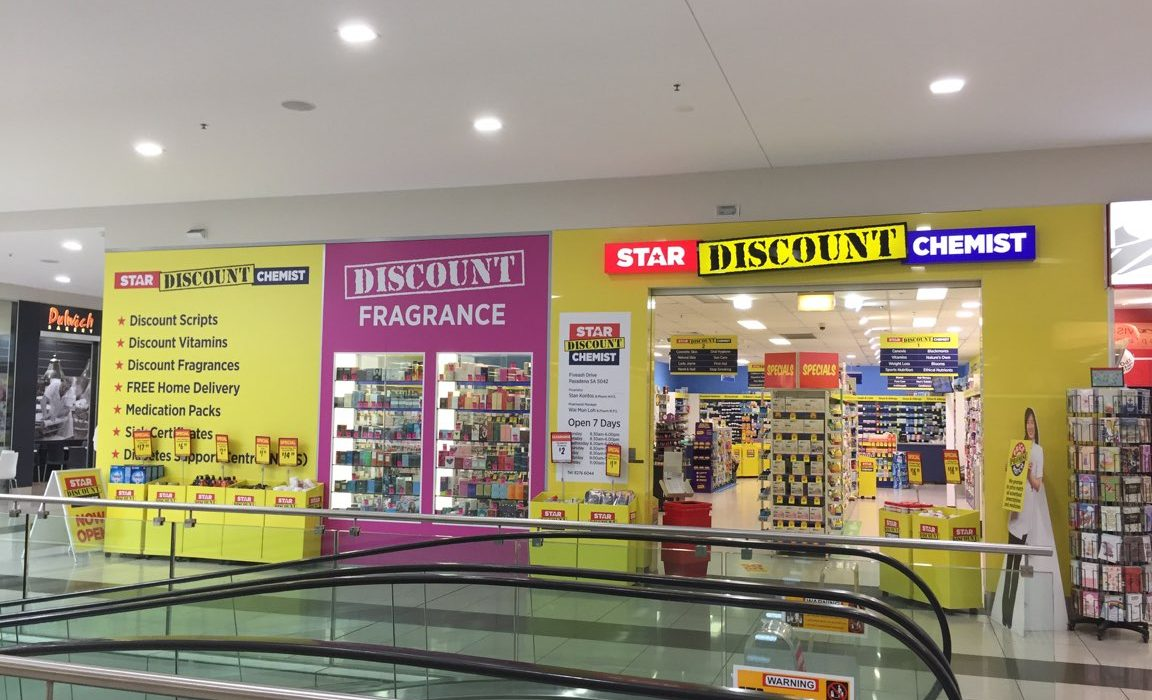 Store front - Star Discount Chemist Pasadena>