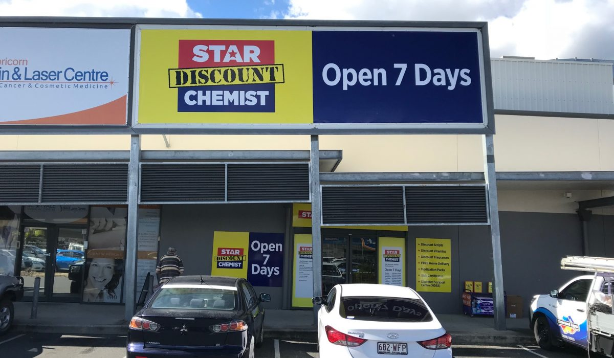 Store front - Star Discount Chemist Narangba>