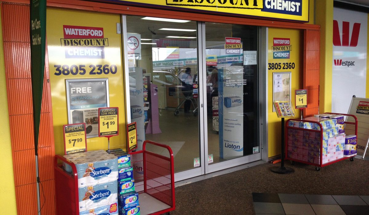 Store front - Star Discount Chemist Waterford>