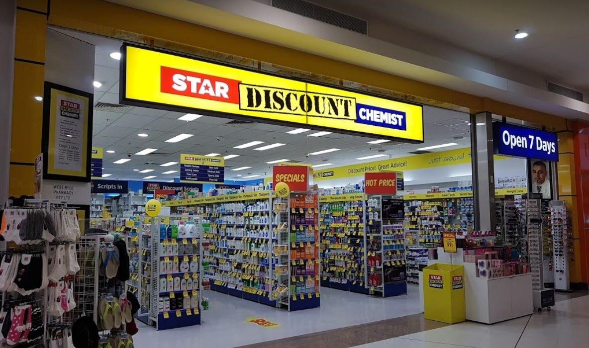Store front - Star Discount Chemist West Ryde>