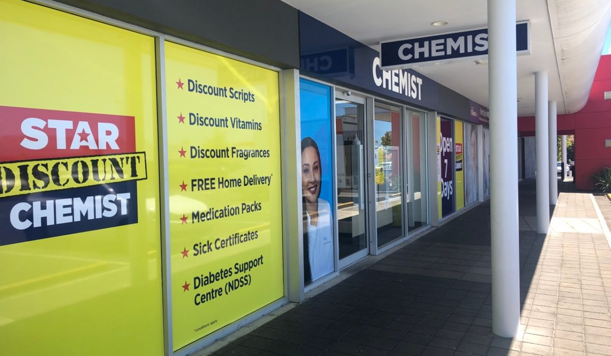 Store front - Star Discount Chemist Northpark>